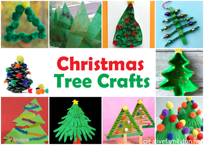 Christmas Tree Crafts for Kids - Creative Family Fun