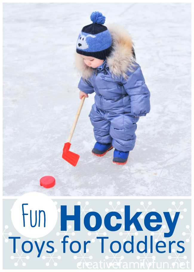 These fun hockey toys for toddlers will make great gifts for your little hockey lovers. Fun ideas for pretend play, active play, and books.