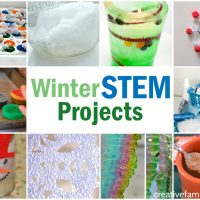 Winter STEM Projects for Kids