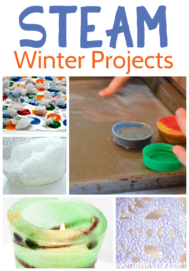 Learn and have fun with all of these winter STEM projects for kids. Explore snow, ice, cold temperatures and more winter fun.