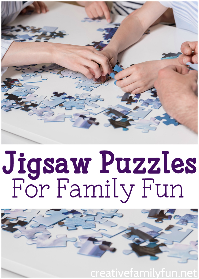Enjoy the quality time the holidays bring by introducing a family jigsaw puzzle tradition. Find a list and assortment of great puzzles for the family here!