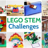 LEGO STEM Challenges for Kids