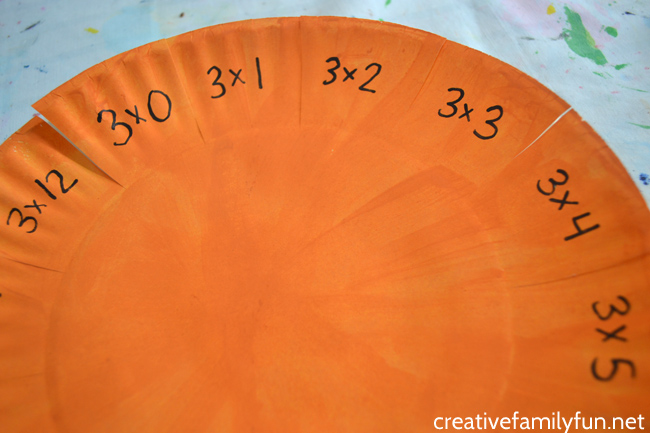 Have fun practicing your multiplication facts with this simple Paper Plate Multiplication Activity. They're easy to make and make times tables fun.