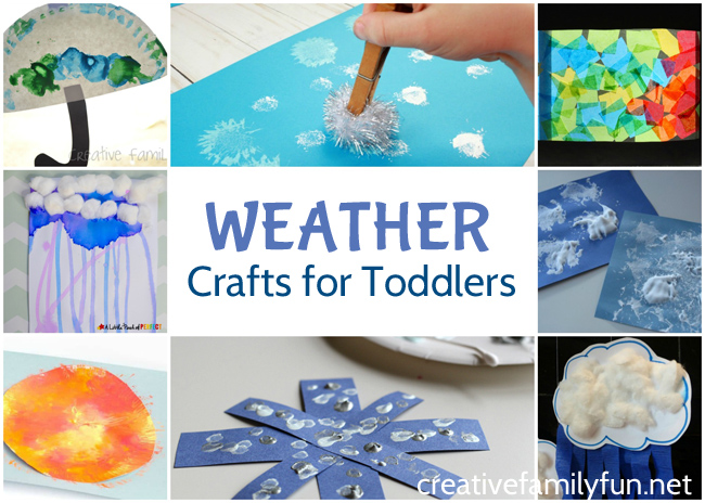 Fun Weather Crafts For Toddlers Creative Family Fun