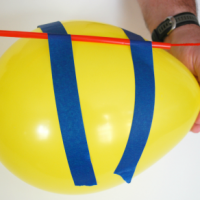 Balloon Rocket STEM Activity