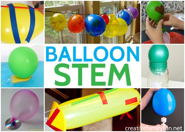 Balloon Stem Activities For Kids Creative Family Fun