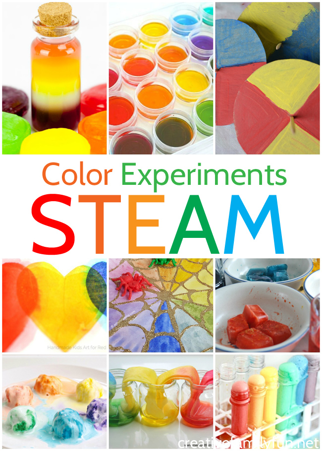 Awesome Color Stem Activities For Kids Creative Family Fun