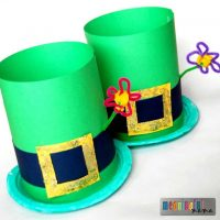 Leprechaun Hat St. Patrick's Day Craft for Kids