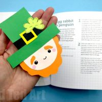 Leprechaun Corner Bookmark for St Paddy's Day - Red Ted Art's Blog