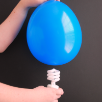 Magic Light Bulb Balloon Science Experiment