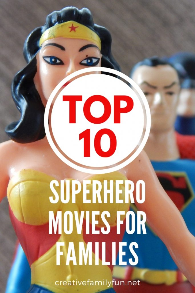 Grab the popcorn and settle in for a fun family movie night with these best superhero movies for families. You'll find choices for little kids and big kids.