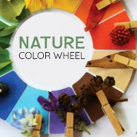 Nature Color Wheel Printable Scavenger Hunt