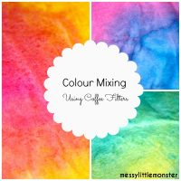 Colour Mixing using Coffee Filters