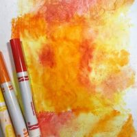 Diffusion Watercolor Art for Kids