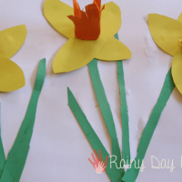 Create a Spring Daffodil Picture