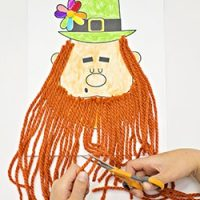 Trim the Leprechaun Beard Craft