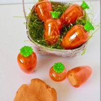 Carrot Orange Play-dough Recipe | Non Candy Basket Idea