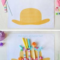 Easter Play Dough Mats - Free Printable
