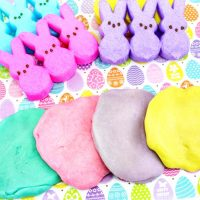 The Best Marshmallow Peeps Play dough Recipe