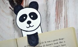 Save your spot in your current book with this easy panda bookmark craft for kids using this simple drawing tutorial and a few supplies.