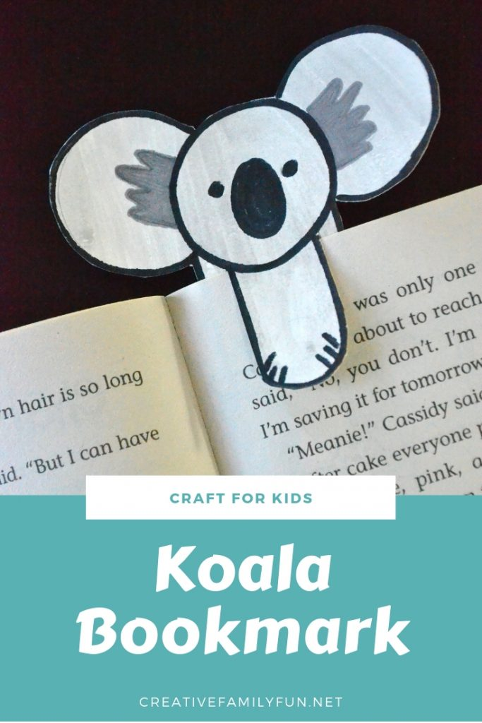 Mark your place in your favorite book with this cute koala bookmark craft for kids. It's so easy to make with this step-by-step tutorial.