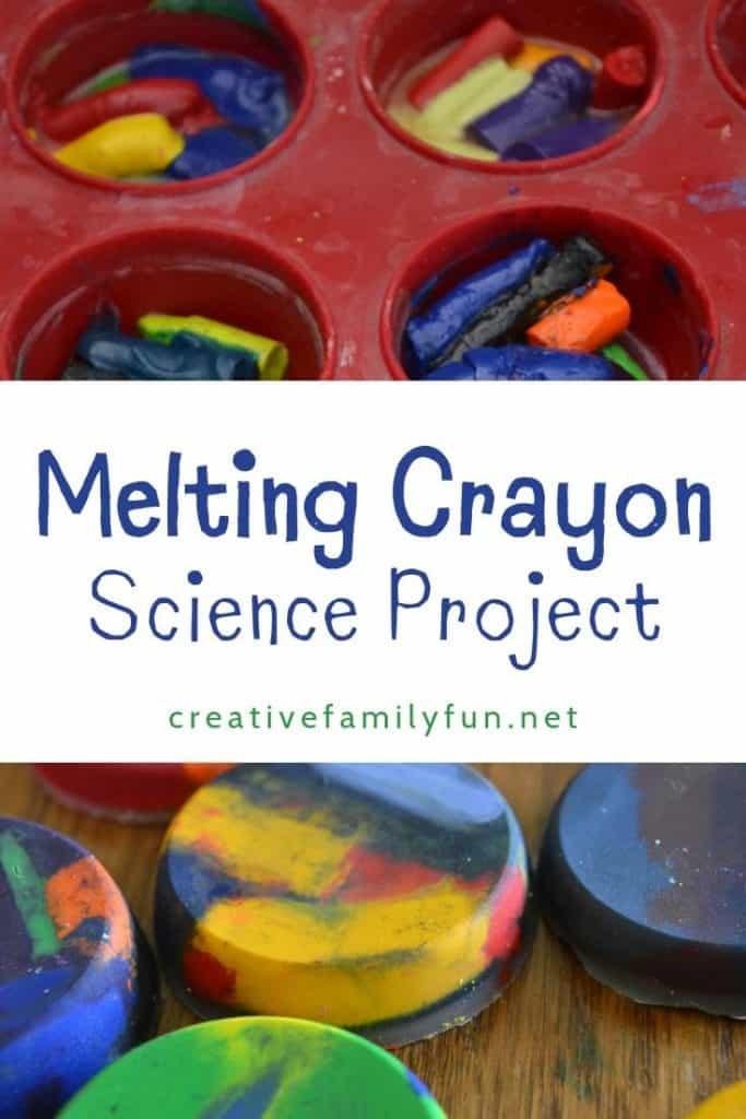 Will crayons melt in the sun? Find the answer to this question with a fun melting crayon science experiment. It's a perfect summer science project.