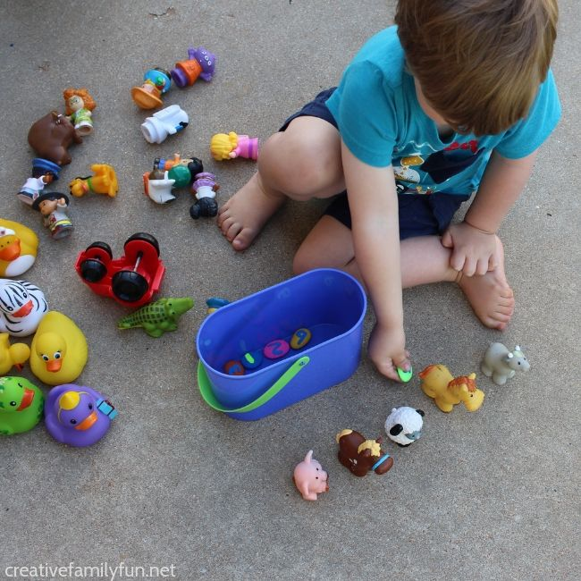 Make a fun set of rainbow number rocks to help your toddler practice counting. Includes DIY instructions and fun counting games to play.