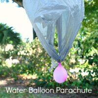 Water Balloon Parachute