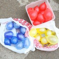 Mixing Colors with Water Balloons