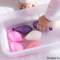 Water Balloon Sensory Bin - Simple Fun for Kids