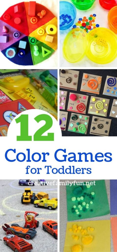 Help your little one learn with these fun and hands-on color games for toddlers. They'll have so much fun learning while they play.