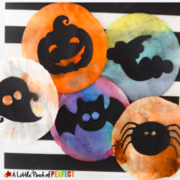 Halloween Shadow Suncatcher Craft