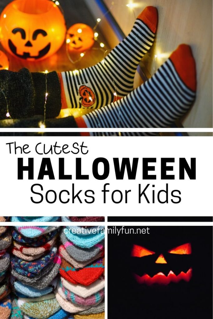 Celebrate in style - on your feet - when you wear some of these cute selection of Halloween socks for kids. It's so much fun to wear cool socks!