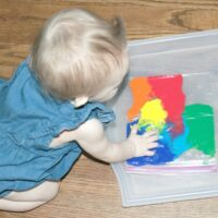 Mess Free Rainbow Activity