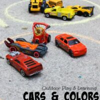 Car Color Sort: Outdoor Math