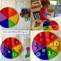 DIY Color Wheel Toy