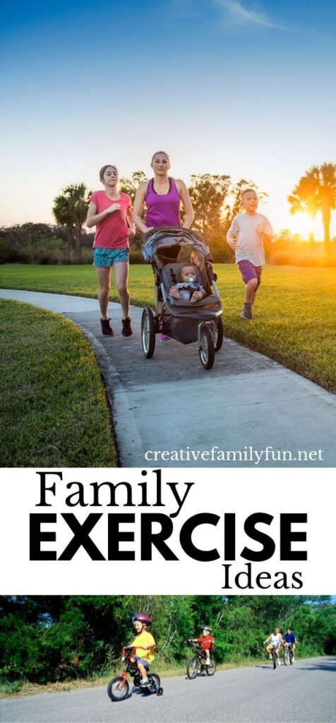 Spend some quality time together with your kids and get in shape when you try one of these fun and simple family exercise ideas.