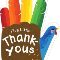 Five Little Thank-Yous by Cindy Jin
