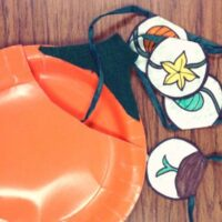Life Cycle of a Pumpkin Paper Plate Craft