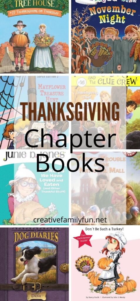 The best Thanksgiving chapter books for kids.