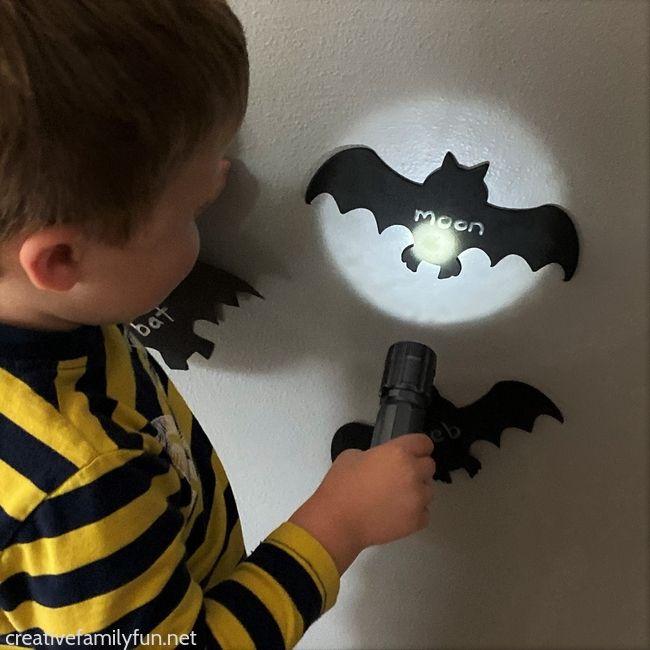 Bat Matching Alphabet Game