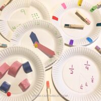 Simple Paper Plate Learning Activities for Preschoolers and Toddlers