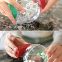 Magnetic Ornaments Christmas Science Activity