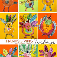 How to Draw & Paint a Thanksgiving Turkey