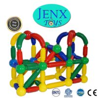Magnetic Rods and Balls Building Blocks