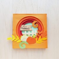 Thanksgiving Papercraft in 3D