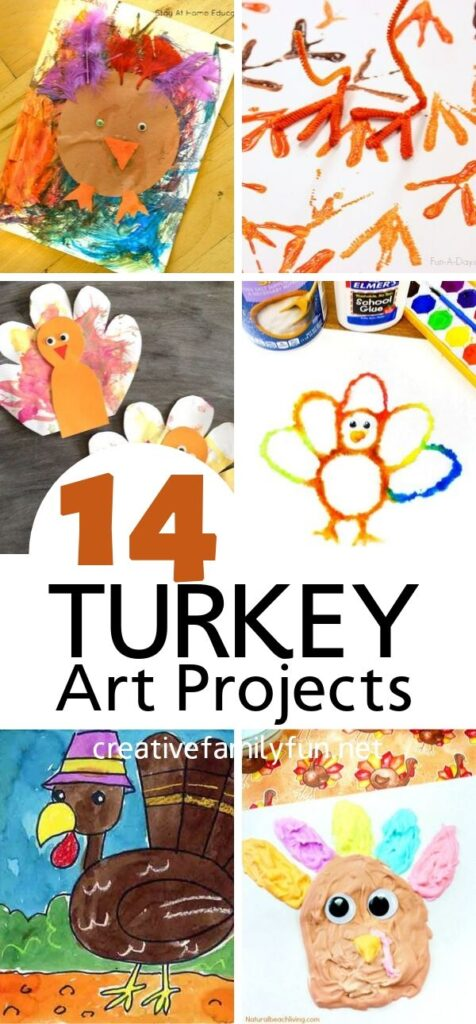 Fun Turkey Art Projects for Kids