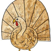 Easy to Draw Turkey