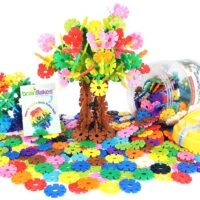 Brain Flakes Interlocking Plastic Disc Set (500 Pieces)