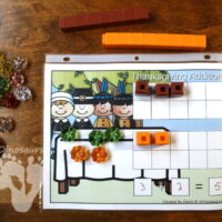 Easy Thanksgiving Math With Addition & Subtraction